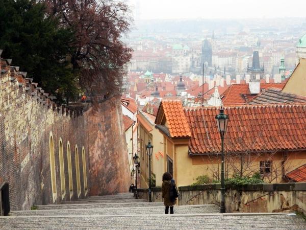 Escaleras Praga