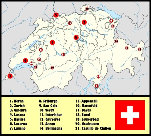Mapa que ver