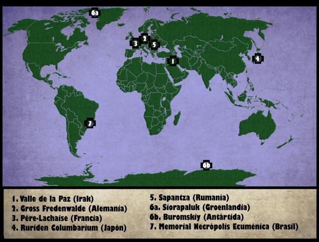Mapa Récords
