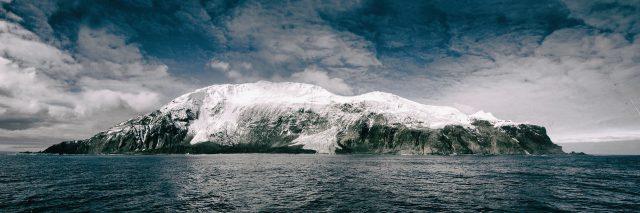 Isla desde mar