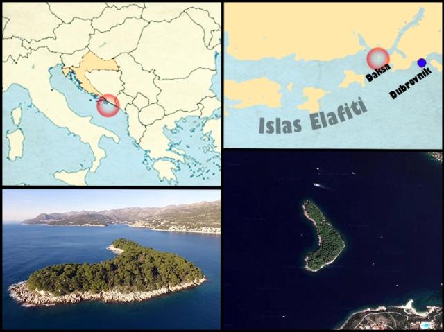 Mapa Daksa