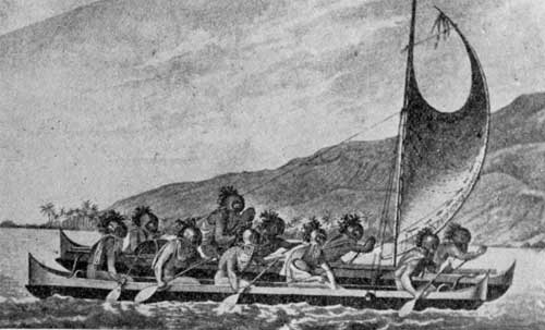 Barco polinesio