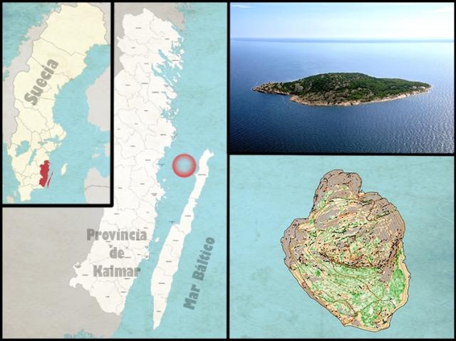 Mapa Bla Jungfrun