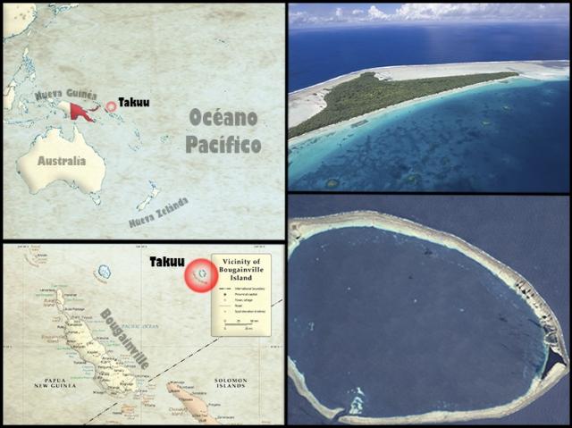 Mapa Takuu