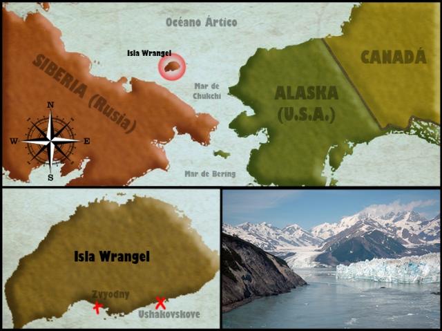 Wrangel Mapa
