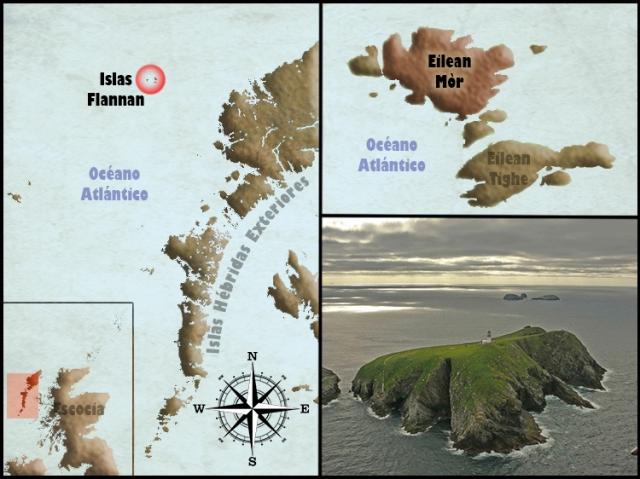 Mapa Eilean Mor